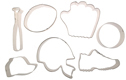 Sports Cookie Cutter Set