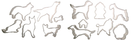 Dog Cookie Cutter Set