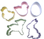 Easter Egg Colors Cookie Cutter Set
