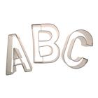 Narrow Alphabet Cookie Cutter Set