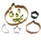 Pumpkin Cookie Cutter Set