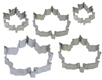 Maple Leaves Cookie Cutter Set