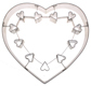 Extra-Large Heart With Insert Cookie Cutter