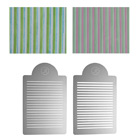 Pencil Stripes Multi-Layer Stencil Set by James Rosselle