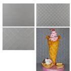Waffle Pattern Texture Sheet Set by Lauren Kitchens