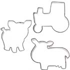 Farm Cookie Cutter Set by Autumn Carpenter