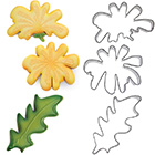 Dandelion Cookie Cutter Set by Blyss Cookies