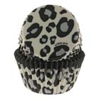 White Leopard Standard Baking Cup