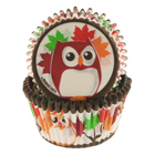 Owls Standard Baking Cups