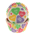 Candy Hearts Standard Baking Cups