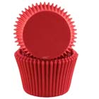 Red Jumbo Baking Cups