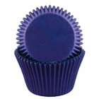 Blue Jumbo Baking Cups