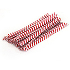 Twisties - Red Stripe Twist Ties