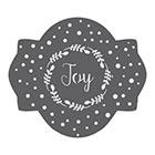 Joy Cookie Stencil Set by Julia