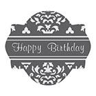 Happy Birthday Cookie Stencil Set by Julia M Usher