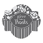 Give Thanks Cookie Stencil Set by Julia