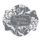 Birthday Wishes Cookie Stencil Set by Julia