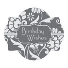 Birthday Wishes Cookie Stencil Set by Julia M Usher