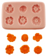 Six Flowers Silicone Mold