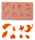 Flower and Leaf Gum Paste and Fondant Molds