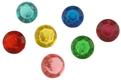 """1/2"""" Colored Diamond Jewels"""