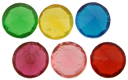 """13/16"""" Colored Diamond Jewels"""