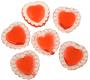 """1"""" Red Fancy Heart Jewels"""