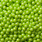 Lime Green Shimmer Pearls