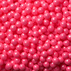 Bright Pink Shimmer Pearls