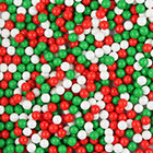 Christmas Mix Shimmer Pearls