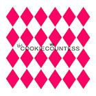 Harlequin Cookie Stencil