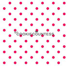 Small Dots Cookie Stencil