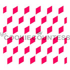 Vasarely Cubes Cookie Stencil