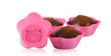 Hello Kitty Silicone Cupcake Molds