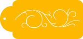 Scrollwork Designer Stencil