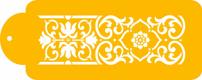Victorian Scroll Designer Stencil