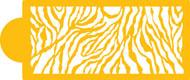 Zebra Skin Designer Stencil