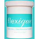 Edible Fabric Cake Decorating Compound by Flexique