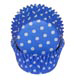 Blue Polka Dot Standard Baking Cups