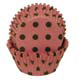 Pink With Brown Dots Standard Baking Cups