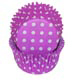 Purple Polka Dot Standard Baking Cups