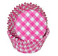 Pink Gingham Standard Baking Cups