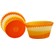 Orange Swirl Standard Baking Cups