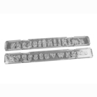 Groovy Lowercase Clikstix Alphabet Cutter Set