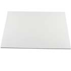 "14"" x 19"" Rectangle White Cake Drum - ¼"" Thick"