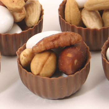Chocolate Nut Cups