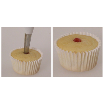 Instructions for Filling Mini Cupcakes