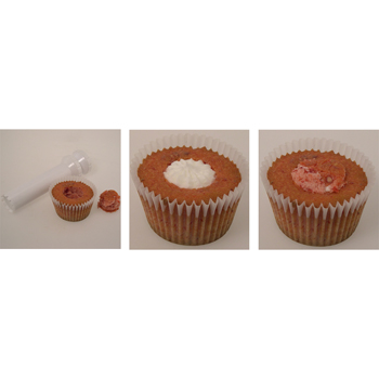 Instructions for Filling Jumbo-Giant Cupcakes