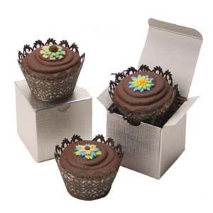 Whimsical Flower Cupcakes