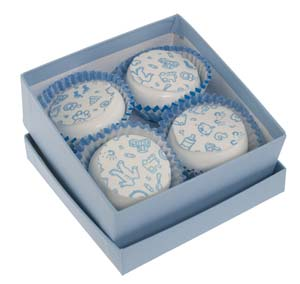 Baby Blue Transfer Sheet Candies